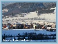 Karolinka im Winter