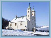 Kirche in Horní Bečva