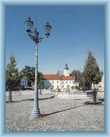 Stadtplatz in Frýdek-Mistek