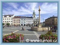 Turnov - Stadtplatz
