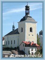 Turnov - Kirche