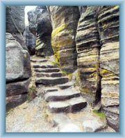 Kalich - innerhalb des Felsenlabyrinth