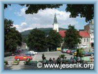 Jeseník - Stadtplatz