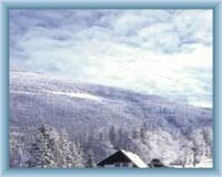 Blick vom Berg Ramzová