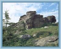 Gipfelmasiv von Vozka