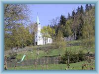 Die Kirche in Bedřichov