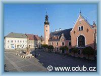 Český Dub - Stadtplatz