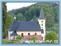 Janov nad Nisou - Kirche