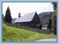 Kleine Kirche in Kryštofovo Údolí