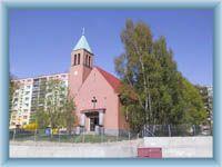 Die Kirche in Mšeno