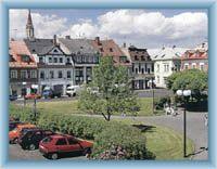 Stadtplatz in Chrastava