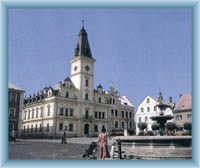 Neurenaissances Rathaus in Hodkovice nad Mohelkou