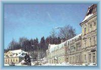 Stadtplatz in Smržovka