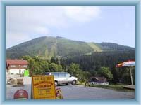 Čertova hora im Sommer