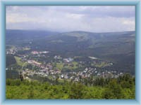 Harrachov vom Berg Čertova hora