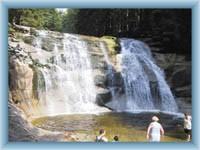Wasserfälle Mumlavské vodopády