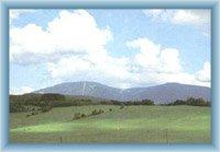 Berge Černá und Světlá hora