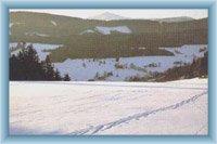 Berg Sněžka von Dolní Albeřice