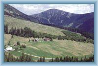 Talgrund Modrý důl und Berg Sněžka
