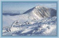 Sněžka vom Berg Studniční hora