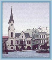 Stadtplatz in Trutnov
