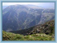 Talgrund Obří důl - Blick aus der Berg Sněžka