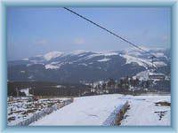 Blick vom Berg Přední Planina