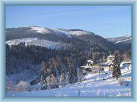Špindlerův Mlýn im Winter
