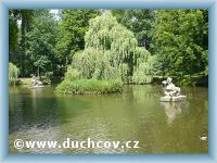 Duchcov - Sfinga Teich