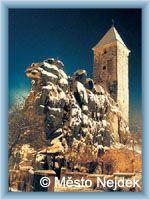 Nejdek - Burg