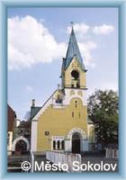 Sokolov - Kirche st. Thomas