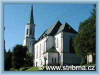 Stříbrná - Kirche