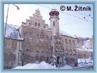 Jáchymov - Rathaus
