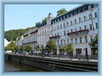 Karlsbad - Stadtzentrum
