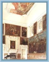 Der Hauptsaal des Schlosses in Duchcov