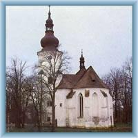 Die Kirche Sankt Martin in Jindřichovice