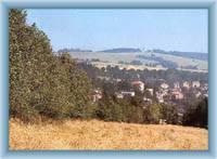 Die Umgebung des Dorfs Luby