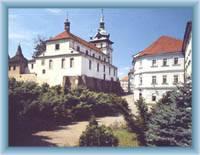 Die Kirche St. Johanes der Täufer in Teplice