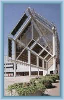 Moderne Kolonade in Teplice