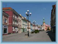 Sokolov - Stadtplatz