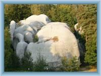 Steine Bílé kameny