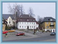 Stadtplatz in Chřibská