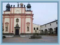 Kirche St. Kreuz in Děčín