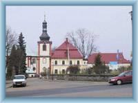 Kirche in Kamenický Šenov