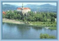 Schloss in Děčín