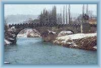 Barockbrücke in Děčín