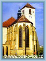 Boskovice - Kirche