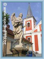 Rájec-Jestřebí - Kirche