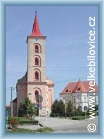Velké Bílovice - Kirche