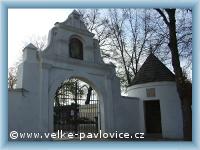 Velké Pavlovice - Friedhofstor